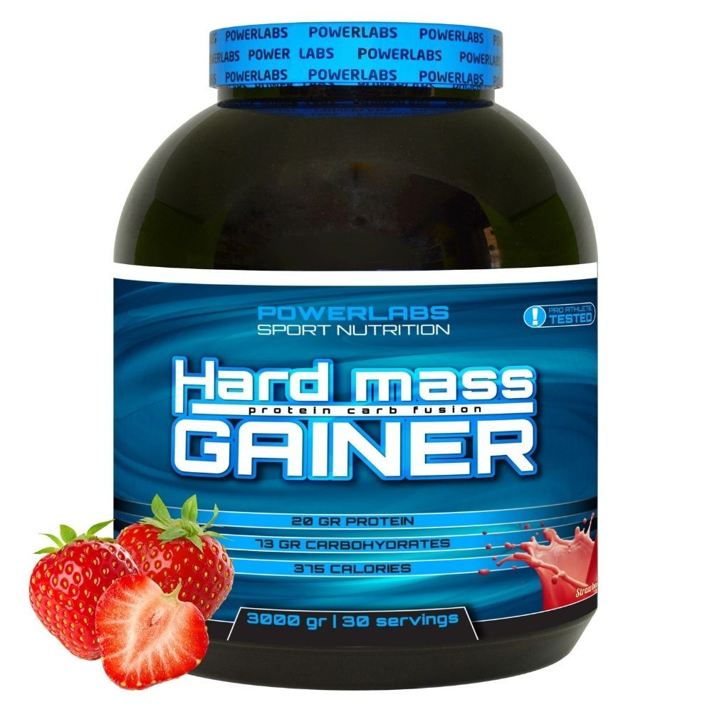 PowerLabs Hard Mass Gainer 3000 g Фисташка